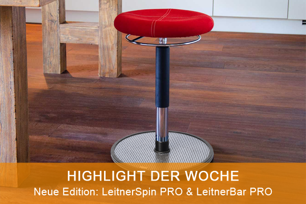 Highlight der Woche: Neue Edition LeitnerSpin PRO & LeitnerBar PRO