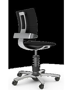 Bürodrehstuhl 3Dee STANDARD von Aeris, Wollmischung schwarz - NEUE EDITION 2020