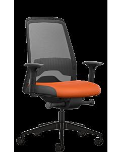 Bürodrehstuhl EVERY ACTIVE EDITION rot-schwarz von Interstuhl