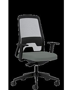 Bürodrehstuhl EVERYis1 von Interstuhl, graubeige