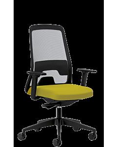 Bürodrehstuhl EVERYis1 von Interstuhl, zitronengelb