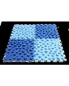 Puzzle-Board zur Fußreflexzonenmassage