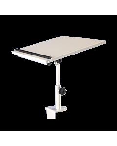 Ergonomisches Tischpult HIGHDESK, grau - 15 % Rabatt
