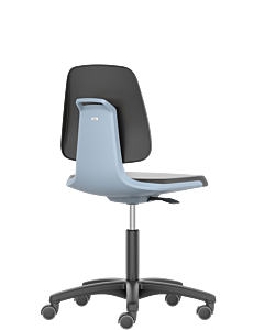 Labordrehstuhl und Arbeitsdrehstuhl Labsit, blau