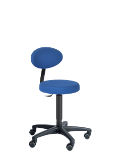 Arbeitsdrehstuhl LeitnerFan 2, blau