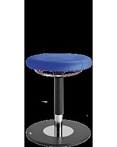 Bewegungshocker und Stehhilfe LeitnerSpin, Kunstleder blau