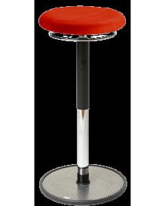 Elegante Stehhilfe LeitnerSpin 3 PRO, COMFORT Mikrofaser rot
