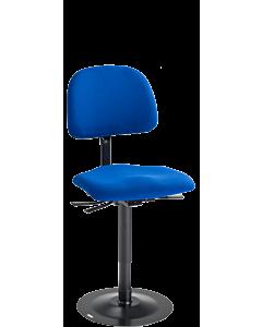 Näherinnenstuhl LeitnerVarioStabil (Sitzhöhe 49 - 67 cm), Kingflex blau