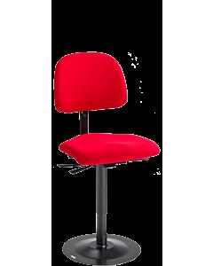 Näherinnen/Schneiderinnenstuhl LeitnerVarioStabil, Kingflex rot
