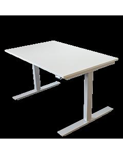 Höhenverstellbarer Schreibtisch/Werktisch LeitnerWork