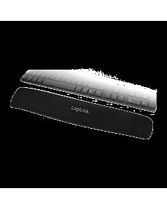LogiLink Tastatur Gel Handballenauflage, schwarz