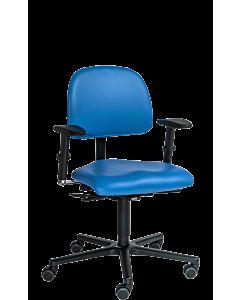 ErzieherInnen-Drehstuhl LeitnerVario 1 ( Sitzhöhe 42 - 55 cm) mit 3D Armlehnen für das Büro