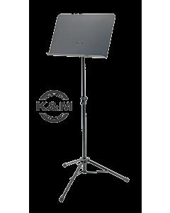 K&M Orchesternotenständer Topline 11960, Notenablage in Stahl schwarz
