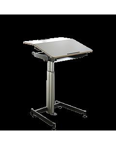 Sitzpult/Stehpult ScuolaBox 1 (Höhe 56-81 cm) von NOVEX - Mobiler Arbeitsplatz für Büro und zu Hause