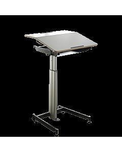 Sitzpult/Stehpult ScuolaBox 1 (Höhe 68-103 cm) von NOVEX - Mobiler Arbeitsplatz für Büro und zu Hause