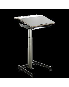 Sitzpult/Stehpult ScuolaBox 3 (Höhe 73-108 cm) von NOVEX - Mobiler Arbeitsplatz für Büro und zu Hause