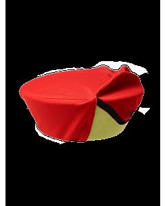 Abnehmbarer Schonbezug/Sitzüberzug für den Aeris Swopper-diamant-d-rot