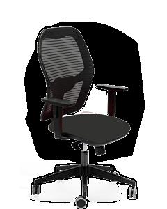 Bürodrehstuhl PADUA schwarz