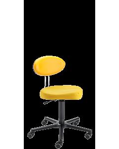 Drehstuhl für ErzieherInnen und Kinder LeitnerTwist 1, Sattelsitz XL