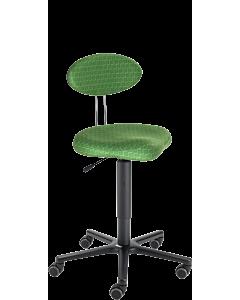 Arbeitsdrehstuhl LeitnerTwist 2 (45 - 65 cm) mit Sattelsitz