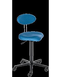 Arbeitsdrehstuhl LeitnerTwist 2 (Sitzhöhe 45 - 65 cm) mit Sattelsitz