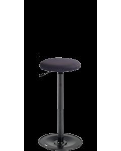 Stehhilfe LeitnerWipp 3, runde Sitzfläche Trevira CS Kinglex