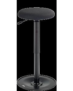 Bewegungshocker und Stehhilfe LeitnerWipp 3 mit Rundsitz, Sitzhöhe: 52 cm bis 77 cm