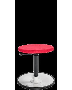 Bewegungshocker LeitnerWipp 1 (Sitzhöhe 34 - 53 cm) mit Sitzüberzug LeitnerDesign