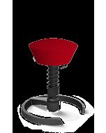 3D-Aktiv-Drehstuhl Swopper von Aeris, Mikrofaser rot