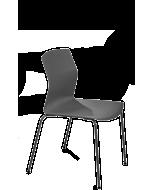 Besprechungsstuhl KABI von Braun, Schale grau