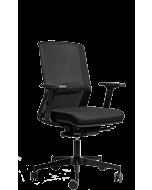 Orlando - klassischer Bürodrehstuhl auch für Home-Office in schwarz