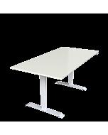 LeitnerDesk Premium - höhenverstellbarer Schreibtisch, Tischplatte 160x80 cm