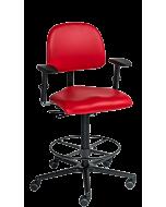 Spezialstuhl LeitnerVario 2 mit XXL-Sitzfläche und Fußring