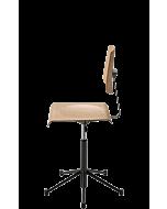 Schülerstühl Scuolaflex 1 von NOVEX, höhenverstellbar, bewegliche Sitzfläche