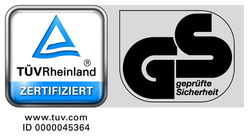 TÜV/GS-Zertifikat LeitnerHoc